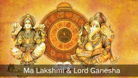 Why Lord Ganesha and Goddess Laxmi are worshiped together?