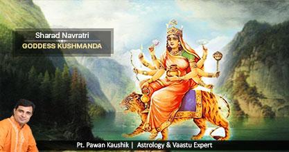 Navratri: Goddess Kushmanada